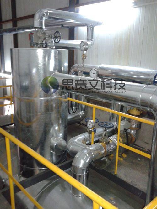 中国建筑研究研对外经贸大学锅炉房项目低位热力除氧器现场02