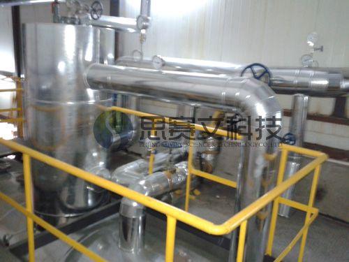 中国建筑研究研对外经贸大学锅炉房项目低位热力除氧器现场03