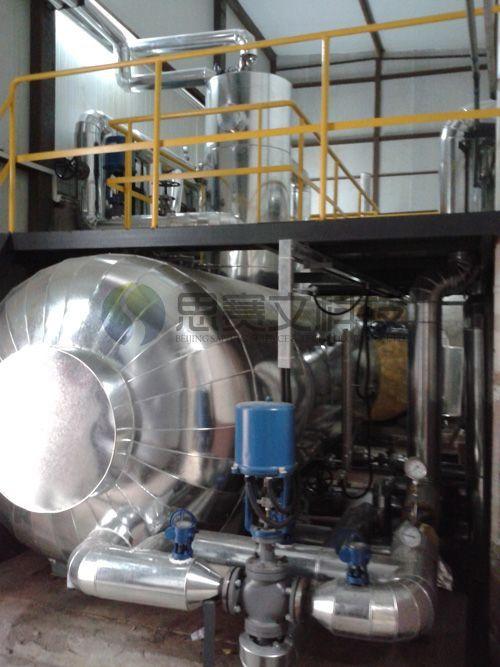中国建筑研究研对外经贸大学锅炉房项目低位热力除氧器现场04
