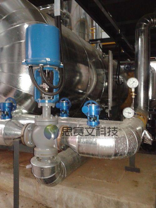中国建筑研究研对外经贸大学锅炉房项目低位热力除氧器现场06