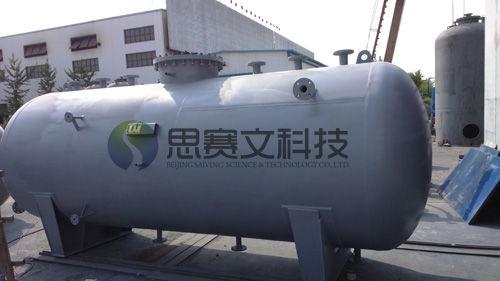 宁夏永恒能源有限公司低位热力除氧器交货02