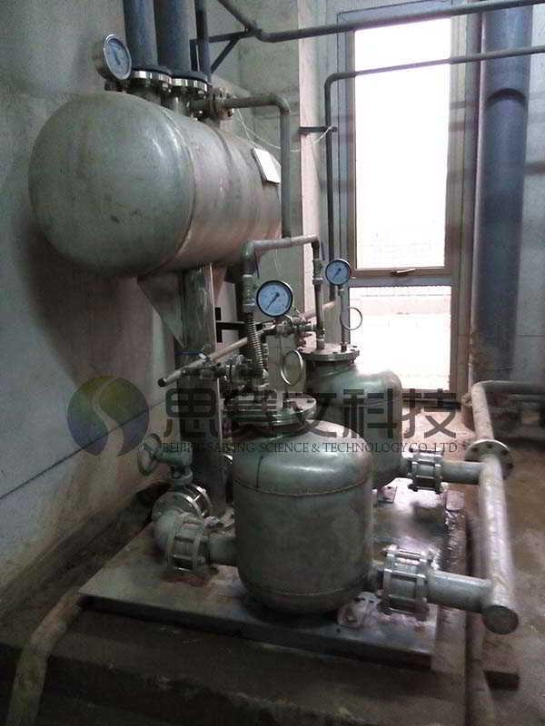 博尔诚(北京)科技有限公司机械动力式冷凝水回收装置运行现场002