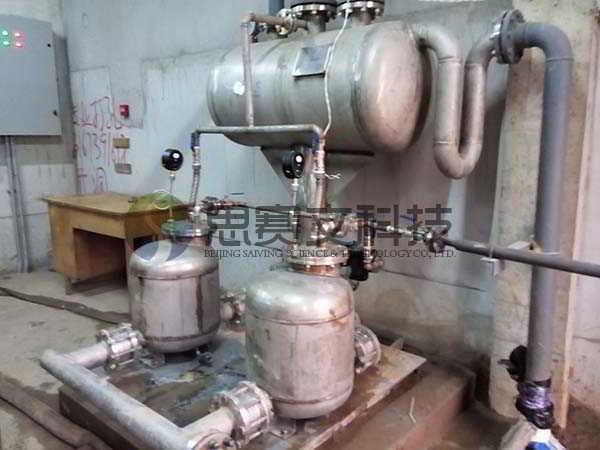 博尔诚(北京)科技有限公司机械动力式冷凝水回收装置运行现场003
