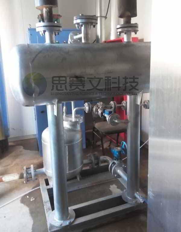 北京大恒制药厂机械动力式冷凝水回收装置运行现场003