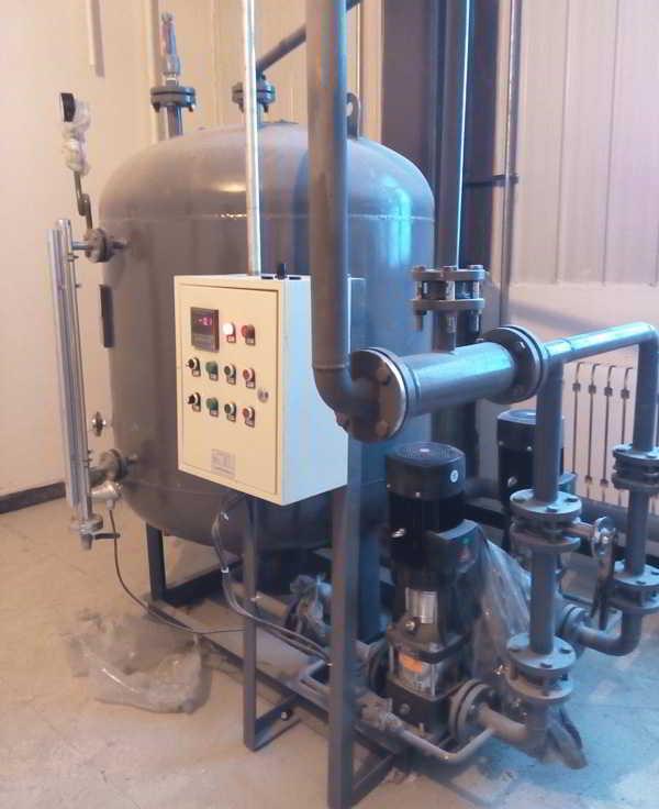 黑龙江中桂制药有限公司冷凝水回收装置001