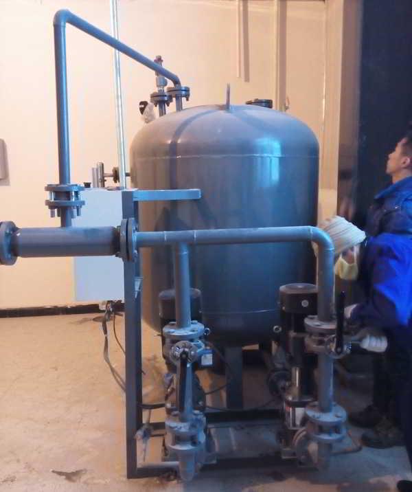 黑龙江中桂制药有限公司冷凝水回收装置003