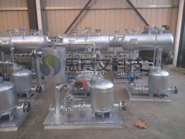 新余钢丝厂机械动力式冷凝水回收装置07