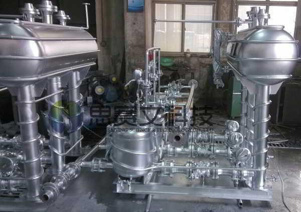 阳煤集团寿阳化工有限责任公司机械动力式冷凝水回收装置设备实物图000