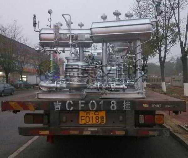 阳煤集团寿阳化工有限责任公司机械动力式冷凝水回收装置设备实物图001