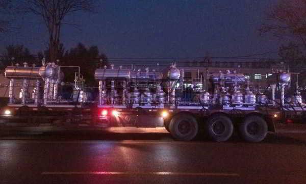 阳煤集团寿阳化工有限责任公司机械动力式冷凝水回收装置设备实物图002