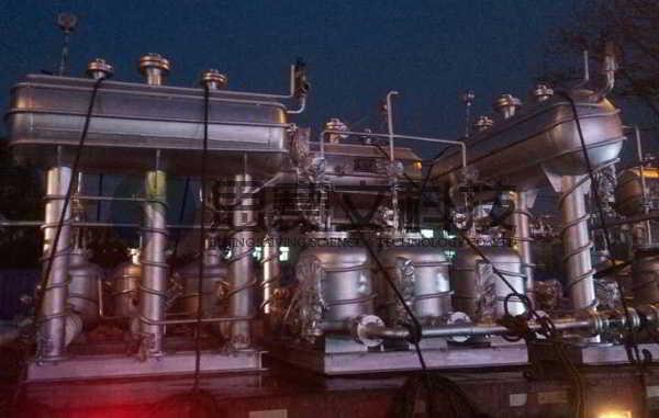 阳煤集团寿阳化工有限责任公司机械动力式冷凝水回收装置设备实物图003