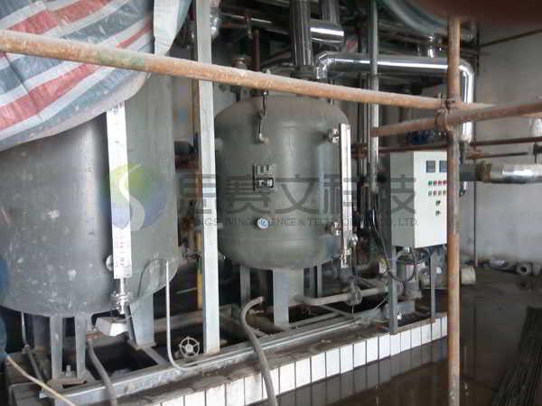 阳煤太化清徐化工新材料园区新建已内酰胺项目聚合装置的蒸汽冷凝水回收系统调试运行成功002