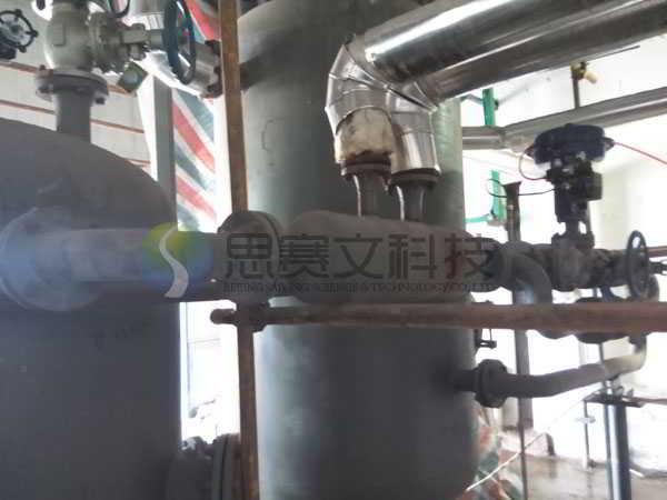 阳煤太化清徐化工新材料园区新建已内酰胺项目聚合装置的蒸汽冷凝水回收系统调试运行成功004