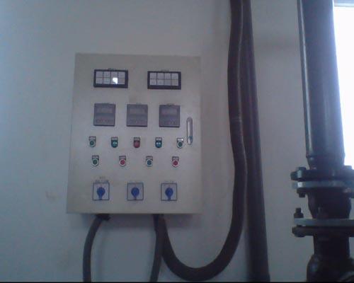低位热力除氧器设备安装现场4