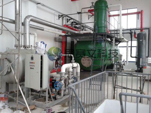 湖南中烟工业有限责任公司低位热力除氧器现场1