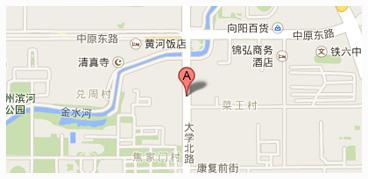 河南省郑州市大学北路78号
