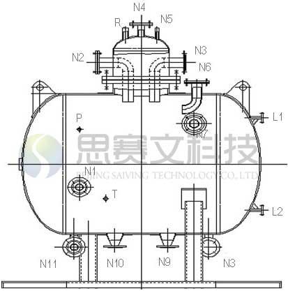 SVLN-B型冷凝水回收装置各管口说明