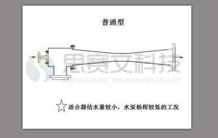 传统普通型吸汽定压装置外型图
